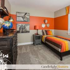 orange bedroom accessories photo - 2