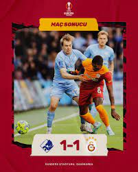 "Galatasaray SK on Twitter: ""Maç sonucu: Randers 1-1 Galatasaray #RFCvGS  #UEL… """