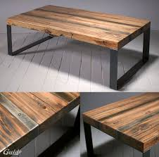 How to Build a Reclaimed Wood Coffee Table