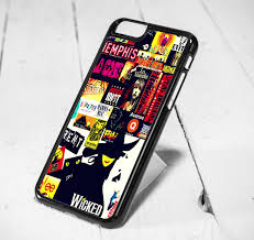 Wicked Broadway Musical iPhone 6 Case 5s 5c Samsung S6 and