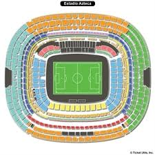 Azteca Stadium Seating Chart Related Keywords Suggestions