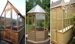 from standard to bespoke combination greenhouses feature in any garden
