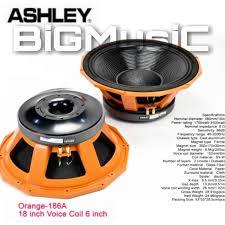 Jual SPEAKER COMPONENT ASHLEY ORANGE-186A / ASHLEY ORANGE186A ...
