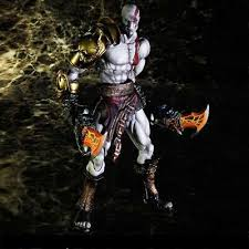 Play Arts Kai <b>God of</b> War Kratos Ghost of Sparta PVC Action Figure ...