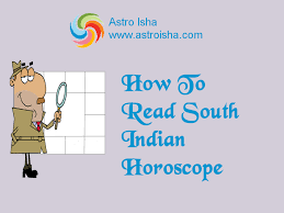 Birth Chart South Indian Style How To Read South Indian Horoscope