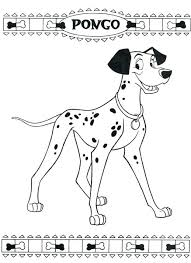 free 101 dalmatians coloring pages coloring pages with bone ribbons dalmatians coloring coloring pages with bone