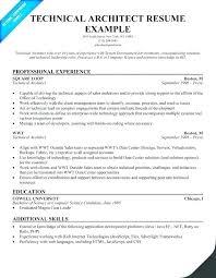 Architect Resume Template Interesting Architect Cv Template Technical Resume Templates For Word