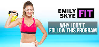 emily skye fit workout review my honest opinion