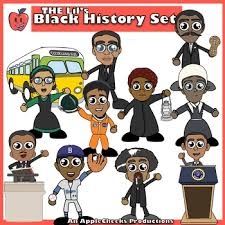 Image result for black history month clipart
