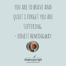 Beautiful Quotes On Books Best Of Quotes From Books Beautiful Quotes Ernest Hemingway Quote