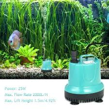 h submersible water pump mini fountain for aquarium fish tank pond gardens hydroponic system