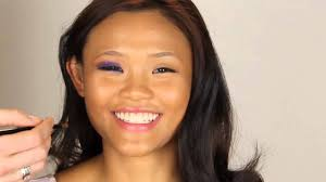 filipina makeup tutorial purple smokey eye look for asian eyes filipino make up transformation