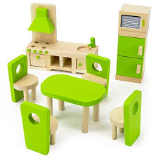 Image Instagram Imagination Generation Wooden Wonders Eatin Kitchen And Dining Room Set Colorful Dollhouse Furniture The New York Times Modern Dollhouse Furniture Amazoncom
