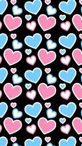 heart pattern wallpaper. Interesting Wallpaper Patternsquenalbertini Pink U0026 Blue Heart Pattern Love Wallpaper Heart  Cellphone For Pattern Wallpaper