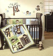 monkey crib bedding set modern baby crib bedding sets
