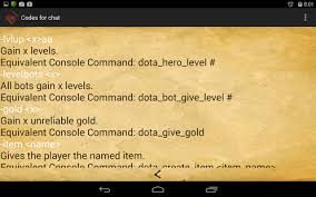 codes for game dota 2 android apps on google play