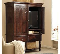 tv armoire cabinet. Interesting Cabinet Pretty TV Armoire From Pottery Barn I Like The Aged Look Of Wood And  Classic Turned Legs Nice Size Too Not Too Big But Not Small And Tv Armoire Cabinet