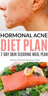 Hormonal Acne Diet Plan Best 7 Day Clear Skin Meal Plan