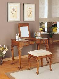 antique vanity set furniture. bedroom : furniture makeup vanity set and rectangle brown polished teak wood table dresser with fold mirror hidden storage plus antique b