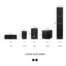 Home Theater Comparison Chart Elite Series Compact Surround Sound Home Theater 5 0 Channel Speaker System