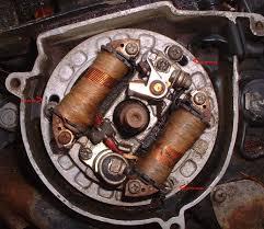flywheel magneto timing an equal number have stator plates