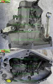 Peugeot 206 gearbox - transmission used with warranty