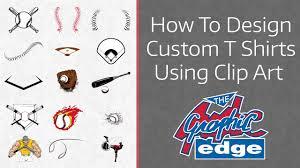 How To Design Art For T Shirt How To Design A Custom T Shirt Online Using Clip Art