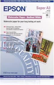 <b>WaterColor Paper Radiant White</b> - Epson