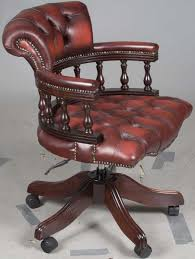 this office chair swivels smoothly 360 degrees antique leather office chair
