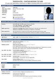aviation resume template stylish pilot resume template professional biz jet job com