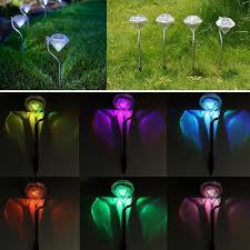 Solar Landscape Lighting Stakes