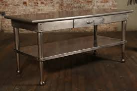 Small Kitchen Stainless Steel Table Kitchen Tables Sets