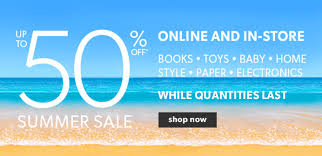 Small Picture Chapters Indigo Canada Summer Sale Up to 50 Off Books Toys