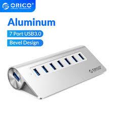 <b>ORICO Aluminum</b> Bevel Design 7 Port USB 3.0 HUB High Speed ...