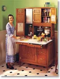 A Hoosier Cabinet from the early 1900's created a more efficient ...