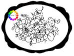 Раскраски жостово подноса