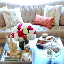 glass coffee table decorating ideas coffee table decorating ideas 6 approaches to styling a coffee table