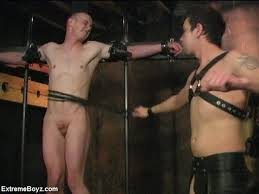 Stripped naked bdsm gay