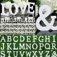 26 large wooden letters alphabet