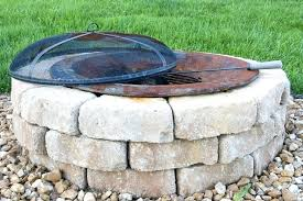 building a stone fire pit how to build an outdoor the chair 4 stone fire pit