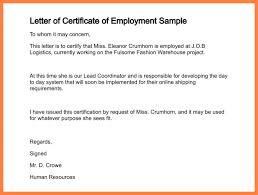 Best Solutions Of Sample Request Letter For Work Certificate