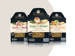 Wowme Design Mr Crumb Gourmet Stuffing Range Extension On Packaging Of