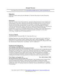 summary vs objective resume cipanewsletter sample summary objectives for resume experience resumes