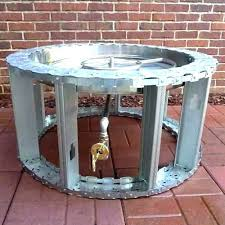 how to build a gas fire pit natural gas fire pit best natural gas fire pit how to build