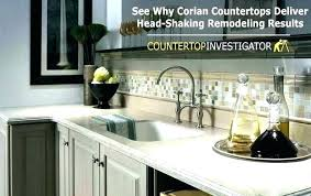 corian countertops cost s also butcher block at solid surface cost stunning foot laminate kitchen
