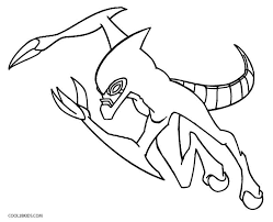 Small Picture Printable Ben Ten Coloring Pages For Kids Cool2bKids