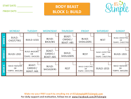 beachbody body beast workout better for men or women healthy meal plans day plan low carb t keto challenge supreme