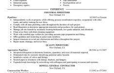 Construction Company Resume Template Pinterest
