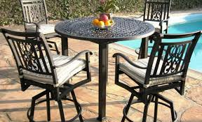 outdoor bar height bistro table set. full size of patio \u0026 pergola:stunning bar height bistro set tabouret wood outdoor table