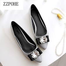 ZZPOHE <b>Spring</b> Autumn Woman <b>Casual Pointed</b> Toe Slip on ...